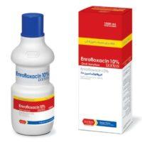 انرو فلوكساسين 10% رویان | Enrofloxacin 10% Rooyan