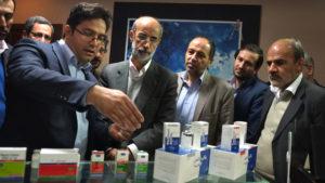 بازدید رئیس سازمان دامپزشکی کشور از کارخانه رویان دارو 1393