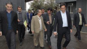بازدید استاندار سمنان از کارخانه رویان دارو 1394