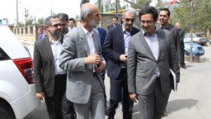 بازدید رئیس سازمان دامپزشکی و وزیر جهاد کشاورزی از کارخانه رویان دارو 1395